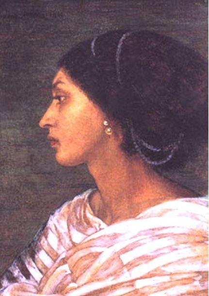 The Head of Mrs Eaton