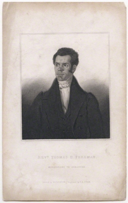 NPG D43023; Thomas Birch Freeman by T. A. Dean, after  Marshall Claxton