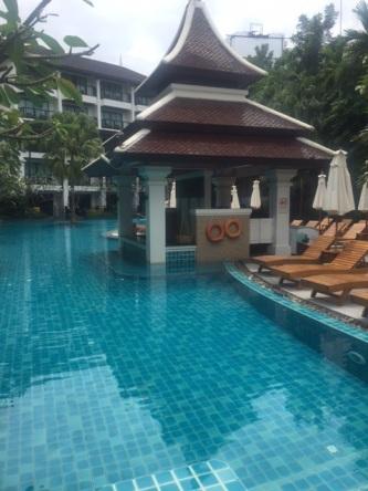 Pool at Centara Anda Dhevi