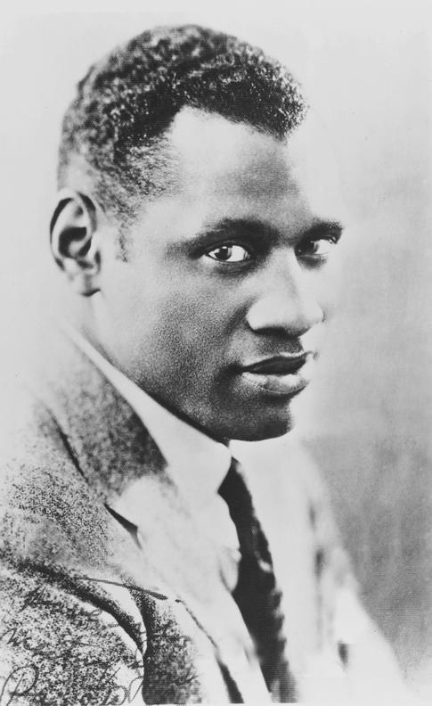 PAUL ROBESON, circa 1920s.