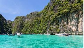 The water at Phi Phi Ley
